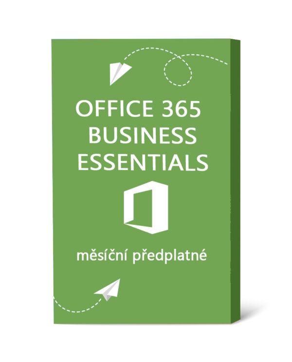 Licence Office 365 Business Essentials - měsíční předplatné
