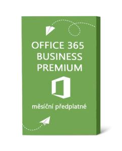 Licence Office 365 Business Premium - měsíční předplatné