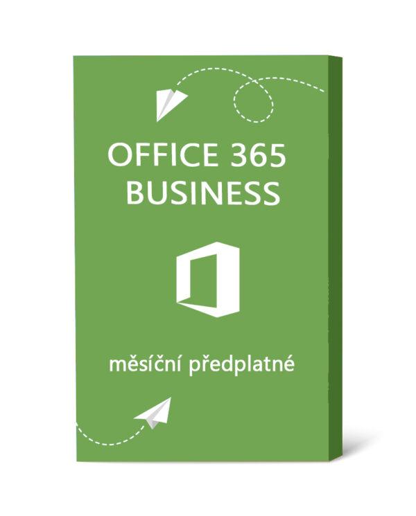 Licence Office 365 Business - měsíční předplatné