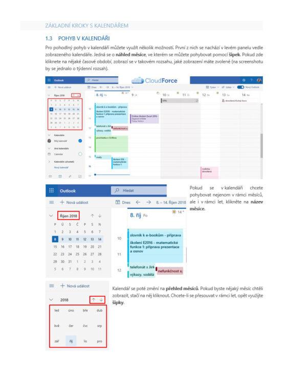Kalendář Outlook Online 1
