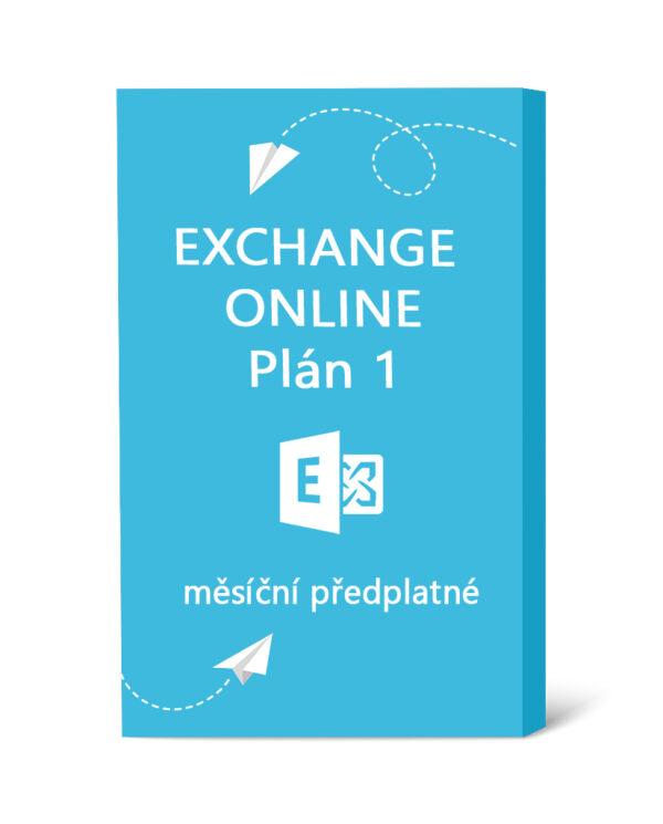 Exchange Online Plán 1 - měsíční předplatné