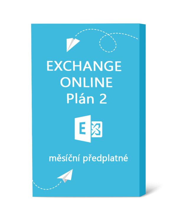 Exchange Online Plán 2 - měsíční předplatné
