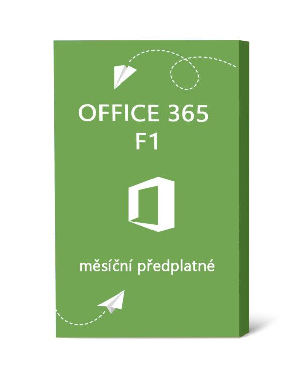 Licence Office 365 F1 - měsíční předplatné