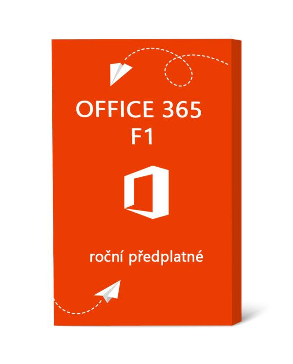 Licence Office 365 F1 - roční předplatné