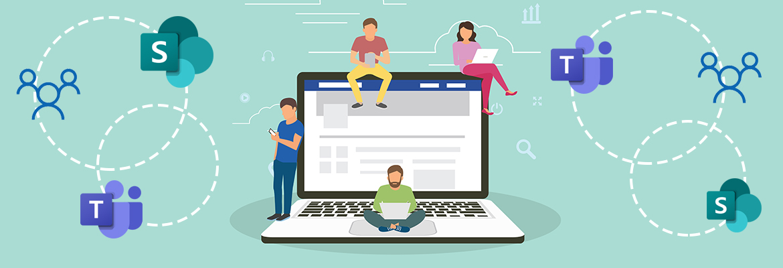 SharePoint vs. Skupiny Office 365 vs. MS Teams – 2