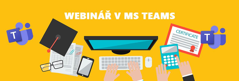 Pořádaní webináře přes Microsoft Teams